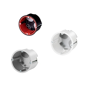 Brand- und Schallschutzdosen